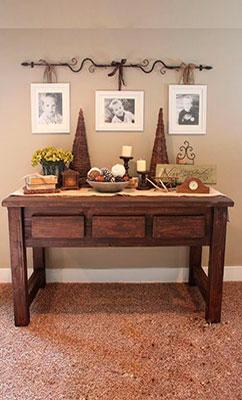 C mo decorar tu mesa en navidad la tienda de garc a hijos - Como decorar una entrada ...