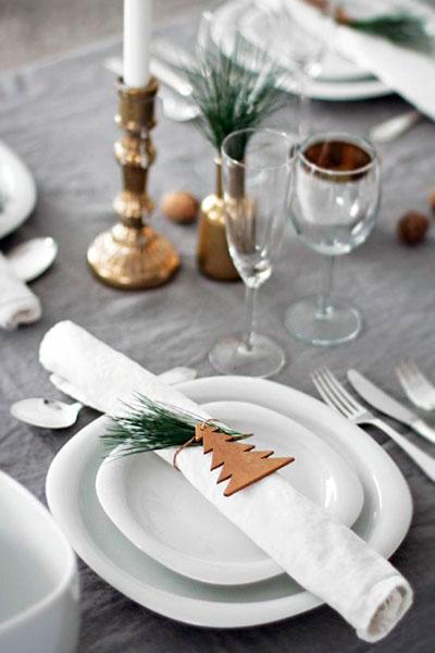 C mo decorar tu mesa en navidad la tienda de garc a hijos - Como decorar la mesa de navidad ...