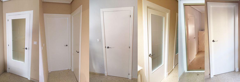 Restauraci n de puertas de paso en sevilla la tienda de for Restaurar puertas de interior