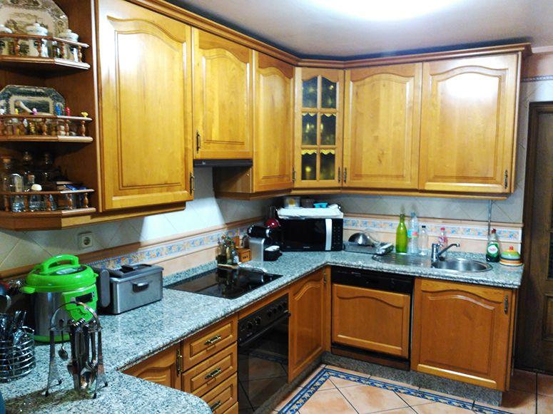 Restauraci n de muebles de cocina la tienda de garc a hijos - Restaurar cocina ...