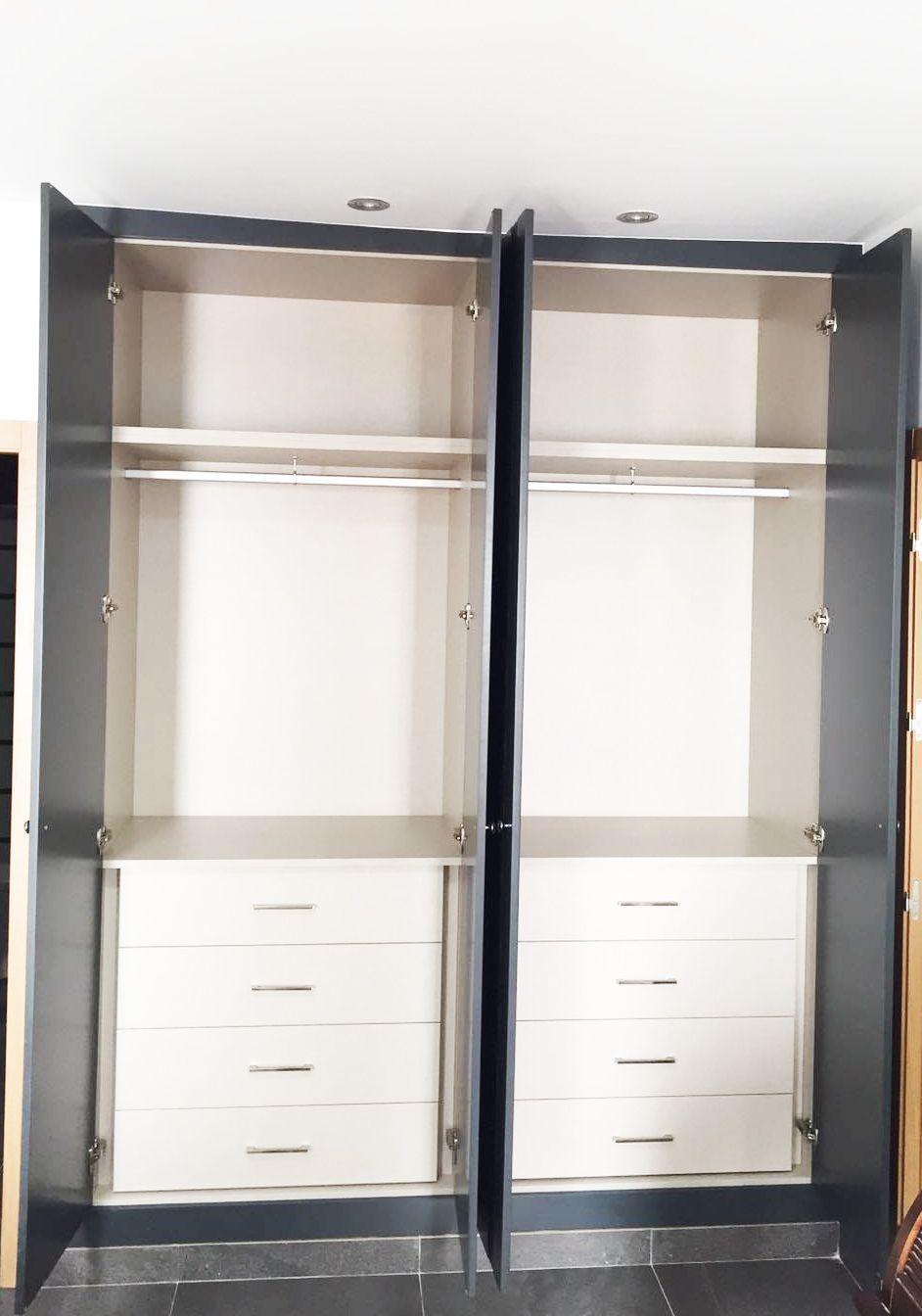 Armarios empotrados puertas abatibles medida armarios - Puertas abatibles para armarios empotrados ...