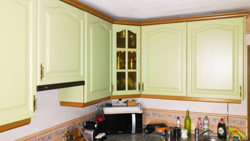 detalle restauracin cocina sevilla - Restaurar Muebles De Cocina
