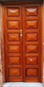 Restauración de puertas de madera