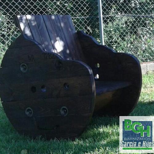 Coil Recycling Gartenstuhl