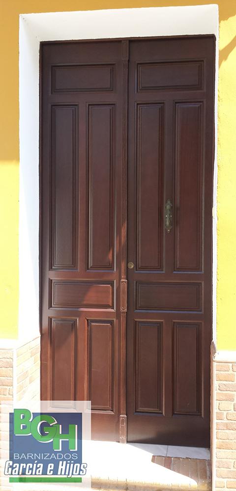 Fabricación De Puertas En Sevilla La Tienda De García Hijos