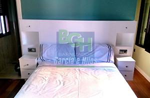 Cabecero de cama lacado