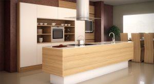 Cocinas Modernas Sevilla en madera