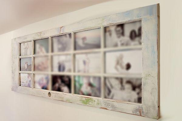 Puerta vieja portafotografias