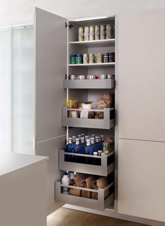 Cocina Eficiente - Mueble columna despensero