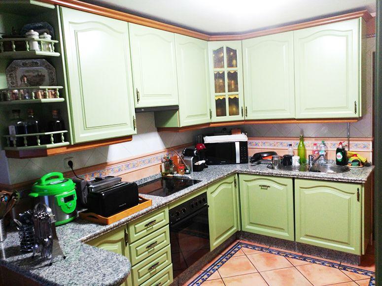 Restauración de muebles de cocina