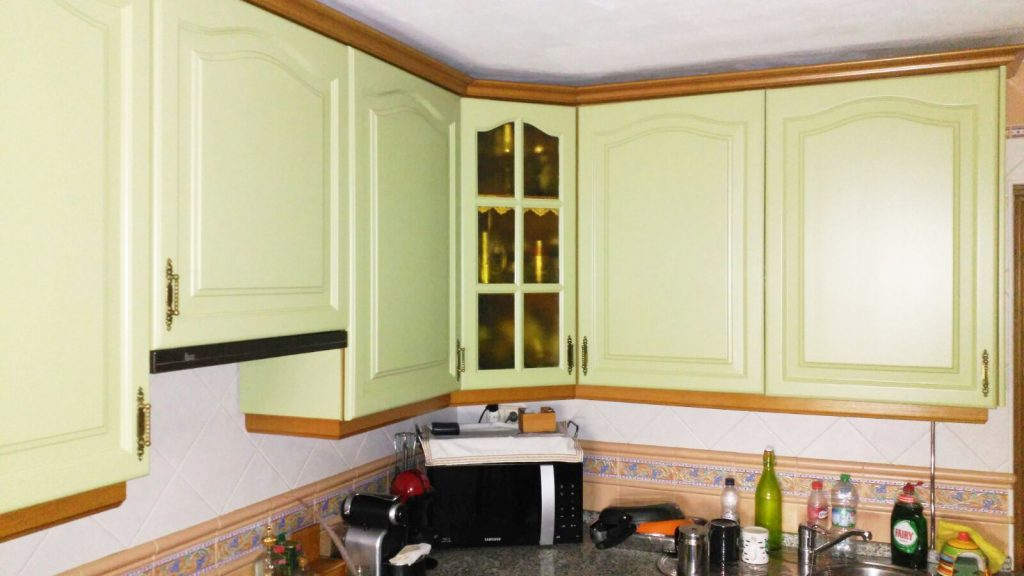 Detalle restauración cocina Sevilla