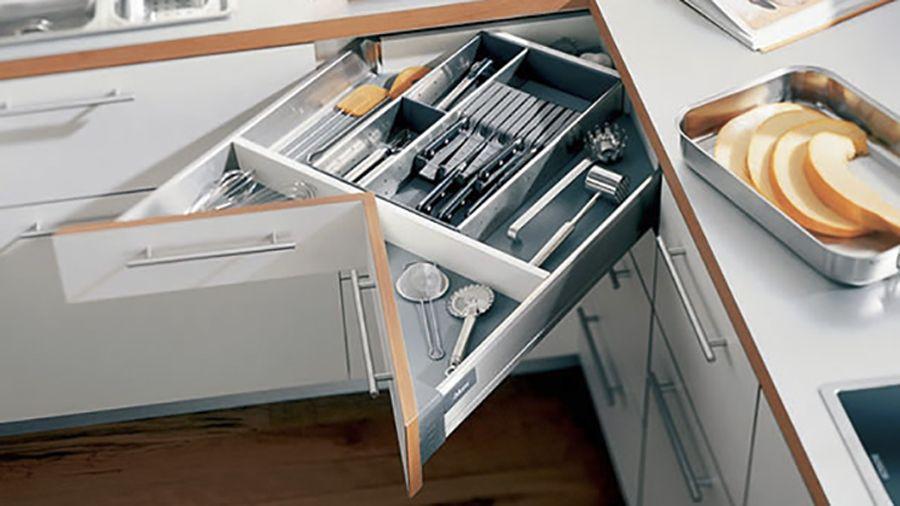 Muebles de cocina inteligentes