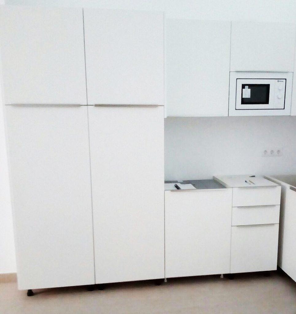 Cocina blanca personalizada